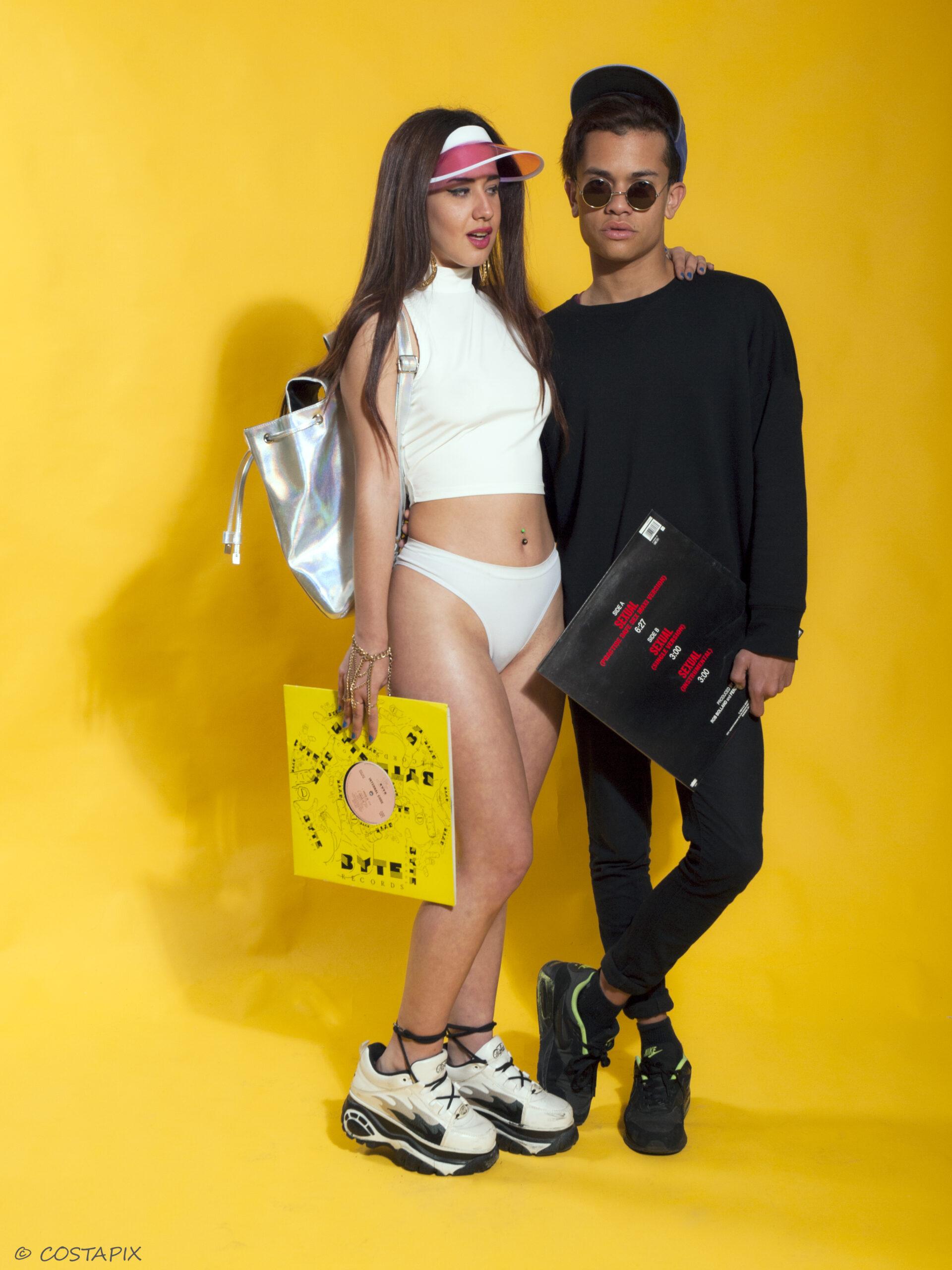 Retro fashion in costapix studio